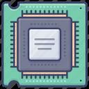processor, cpu, hardware, computer icon