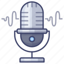 microphone, record, mic, speak