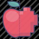 pixel, display, quality, pixels icon