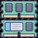momery, ram, hardware, computer icon