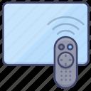 media, control, tv, remote