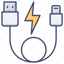 connect, usb, lightning, cable
