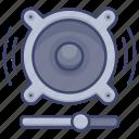sound, loudness, volume, speaker