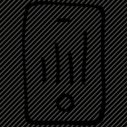 ipod, media, nano, player icon
