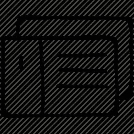 dialog, form, popup, window icon