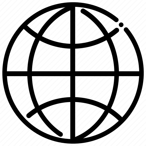 brokenline, world icon
