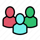 account, group, profile, user, users icon