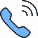 call, communications, signal icon
