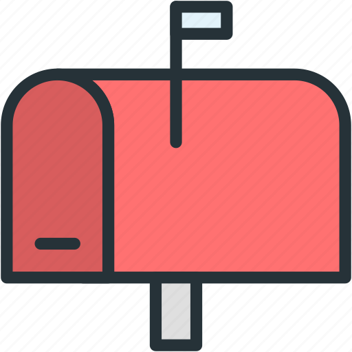 communications, mail, mailbox icon