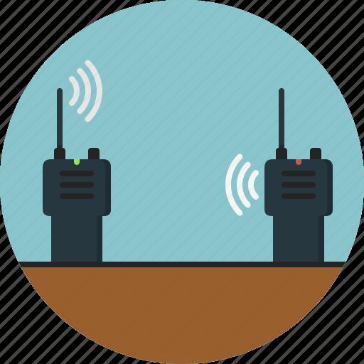 communication, talk, talkie, walkie icon