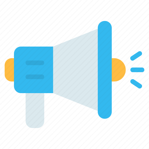 Advertising, announcement, bullhorn, communications, megaphone, promotion icon - Download on Iconfinder