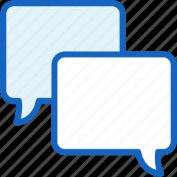 bubble, communications, conversation, speech icon