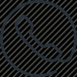 call, communications, conversation, phone icon