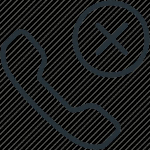 block, call, communications icon