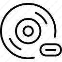 audio, bar, cd, disc, loading, music, progress icon