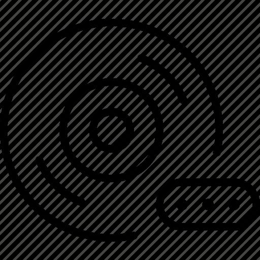 audio, cd, disc, input, music, password, protection icon