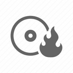 bluray, burn, cd, disk, dvd, write icon