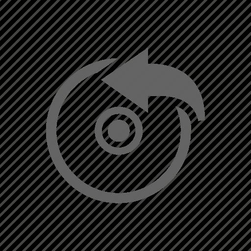 arrow, bluray, cd, disk, dvd icon