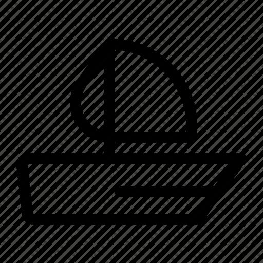 boat, cruise, ship, shipboard, vessel icon