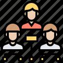 company, organisation, structure, team, teamwork