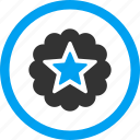 achievement, award, best, premium, prize, rank, reward icon