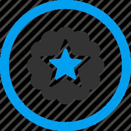 achievement, award, best, premium, prize, rank, reward icon