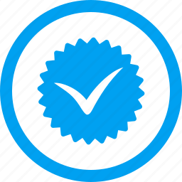 badge, certificate, guarantee, label, quality, stamp, sticker icon