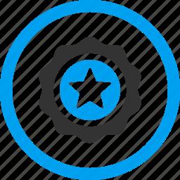 award, badge, label, quality, reward, ribbon, seal icon