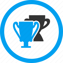 cups, prize, sport, success, trophy, victory, win icon