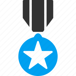army reward, award, badge, gold medal, rating, victory, winning icon