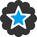 award, best, mark, premium, quality, star, success icon