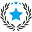 best, glory, mark, premium, proud, star, success icon