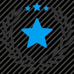 best, glory, mark, premium, proud, star, success icon