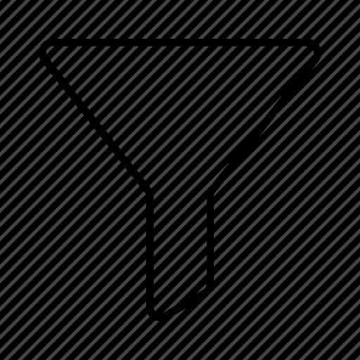 filter, funnel, order, sort icon