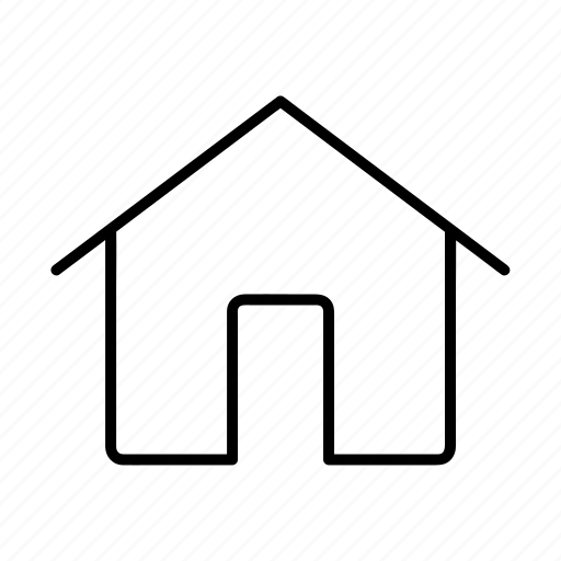home, house, landing page, main page, property, real estate icon