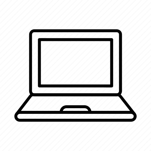 computer, device, electronics, laptop, online icon