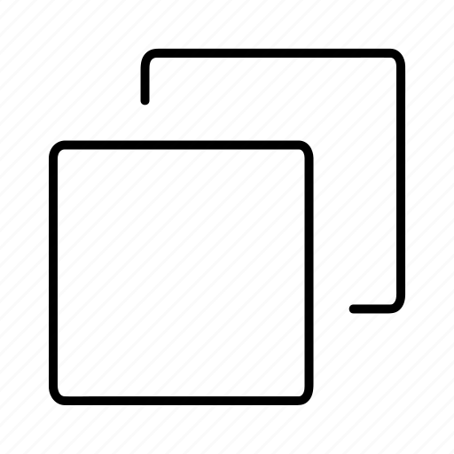 display, layers, minimize, screen, sheet icon