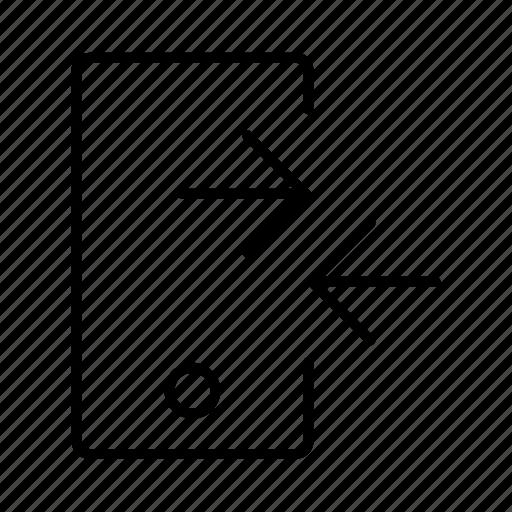 exchange, mobile, synchronize, transfer icon
