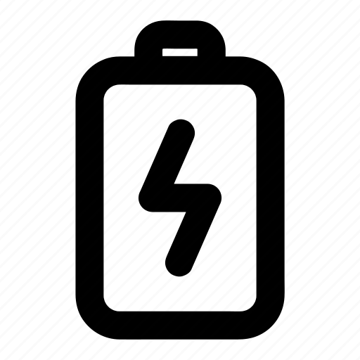 battery, cell, charge, mobile, phone icon