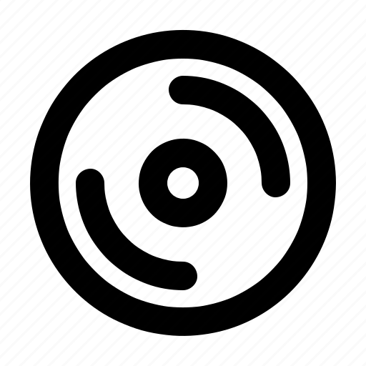 cd, disk, drive, dvd, storage icon