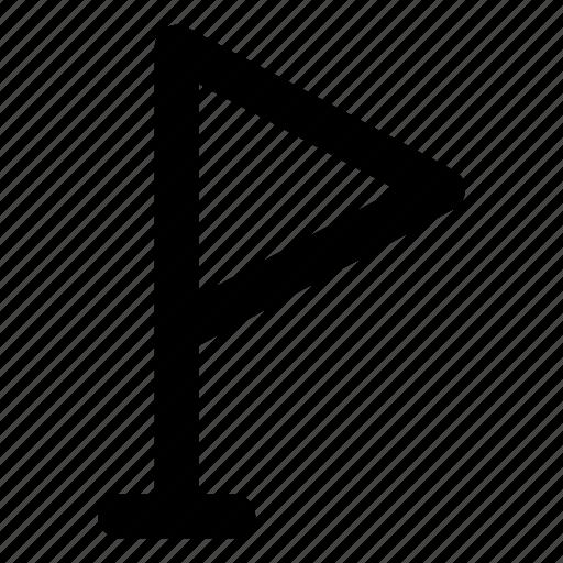 destination, flag, location, marker, pointer icon