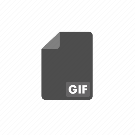 document, file, format, gif, video icon