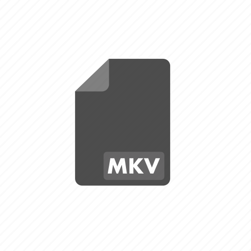 document, file, format, mkv, video icon