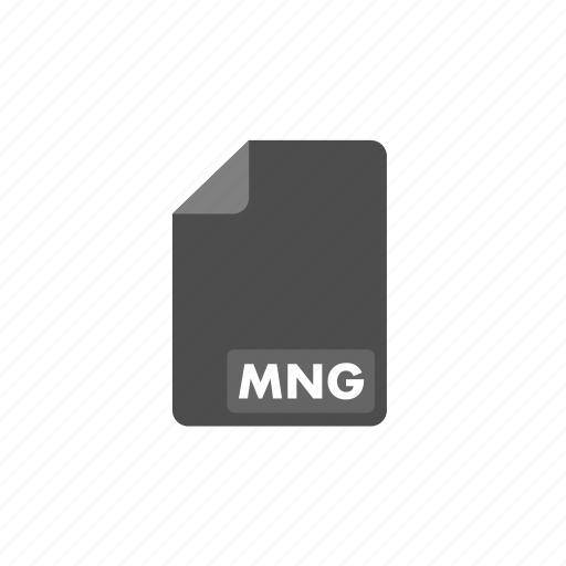 document, file, format, mng, video icon