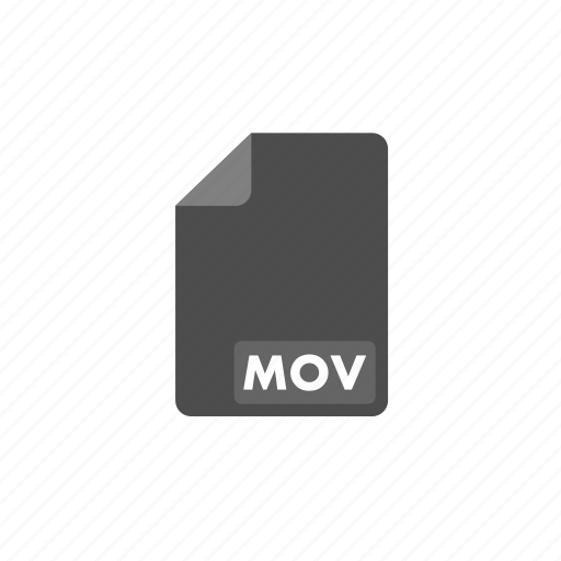 document, file, format, mov, video icon