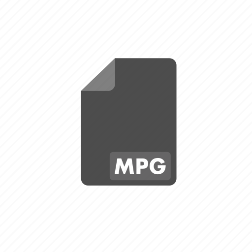 document, file, format, mpg, video icon