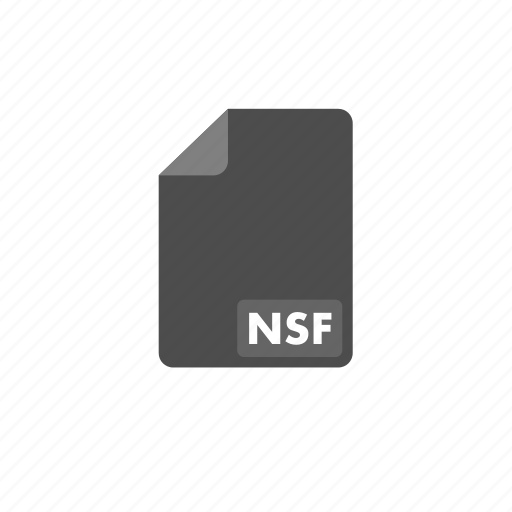 document, file, format, nsf, video icon