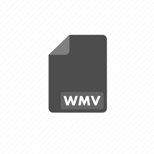 document, file, format, video, wmv icon