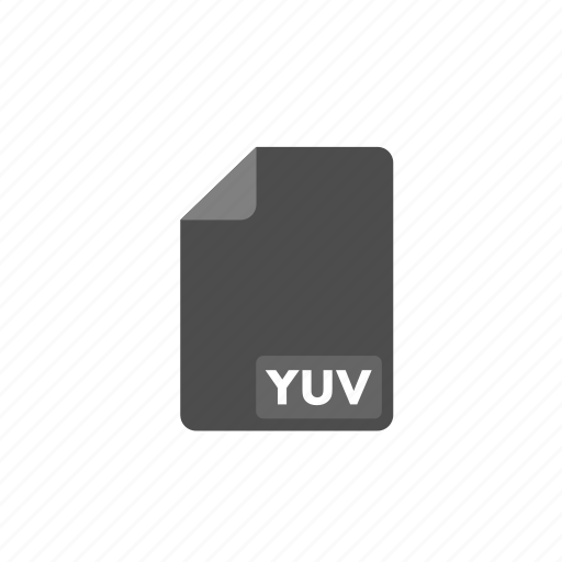 document, file, format, video, yuv icon