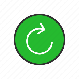 arrow, cycle, loading, refresh icon
